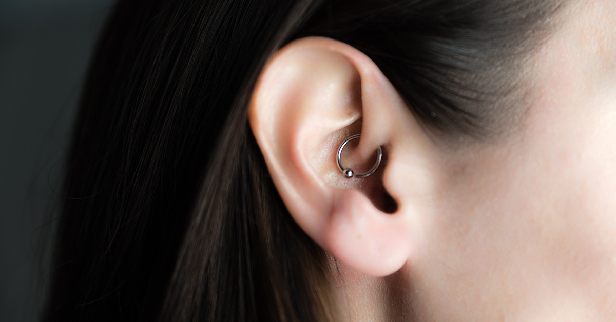 Daith Piercing The Ear Piercing For Migraine Everyone Is Talking About