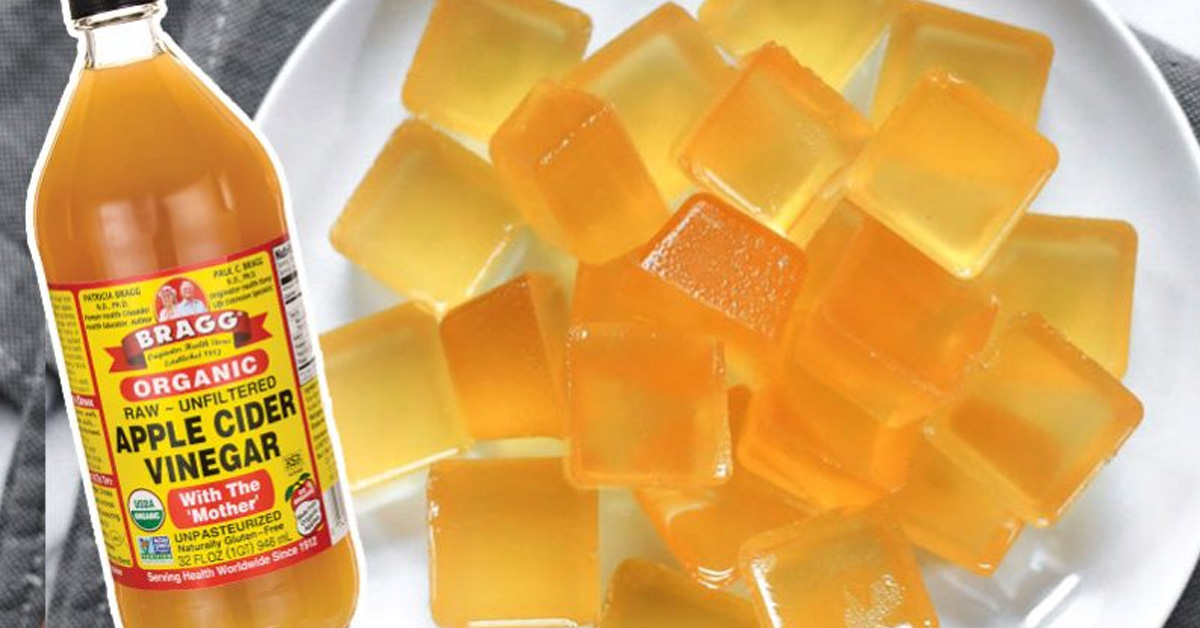 Get Your Daily Apple Cider Vinegar From These Homemade Gummies