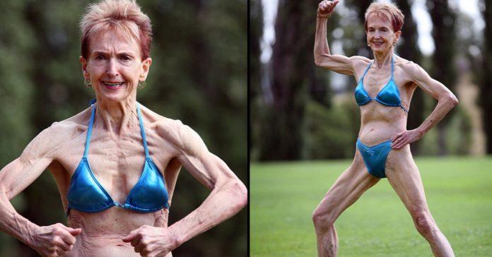 bodybuilding grandma