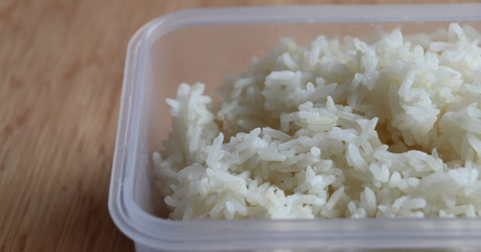 stop reheating rice