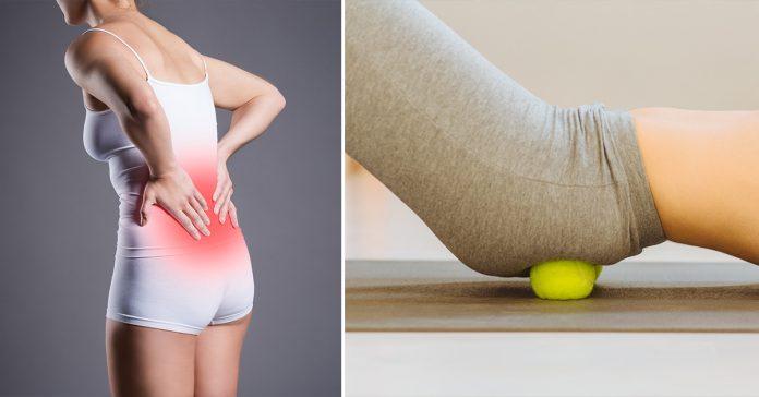 tennis ball relieve sciatica
