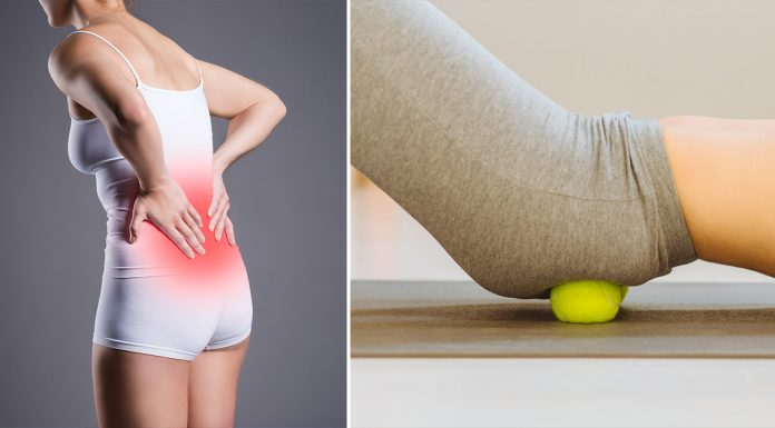 tennis ball relieve sciatica