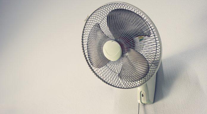sleep with fan