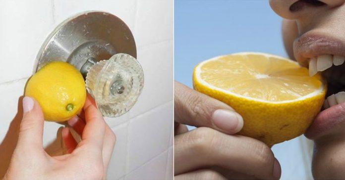 unexpected ways use lemons