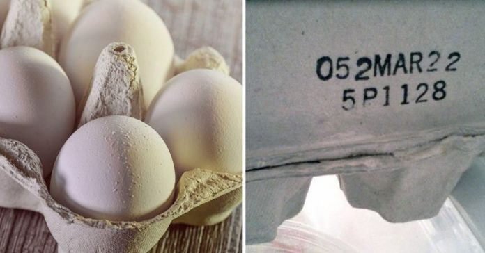 numbers on egg carton