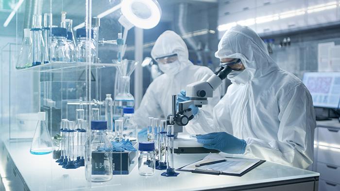 scientists lab stem cells