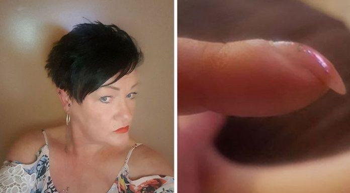 woman cancer nails facebook