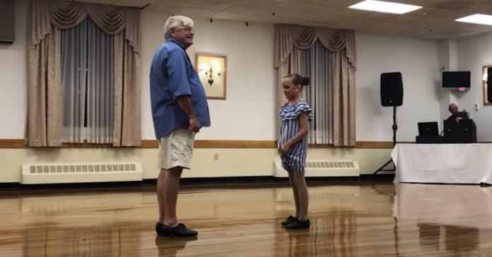 girl grandpa tap dance