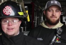 fireman with down syndrome quits