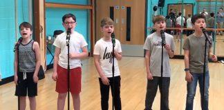 5 boys greatest showman cover