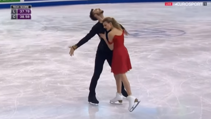 Gabriella Papadkis and Guillaume Cizeron