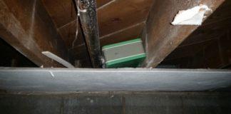 money hidden lunch box attic
