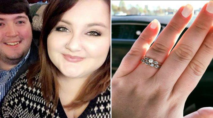 Ariel Desiree McRae and Quinn ring
