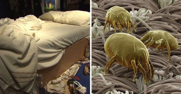 making your bed sick