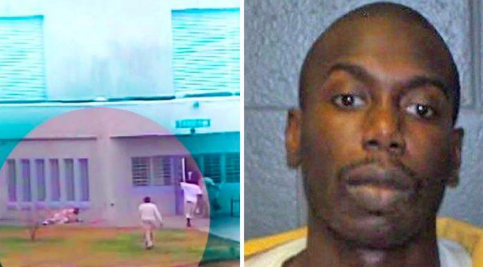 prison guards leave inmate die