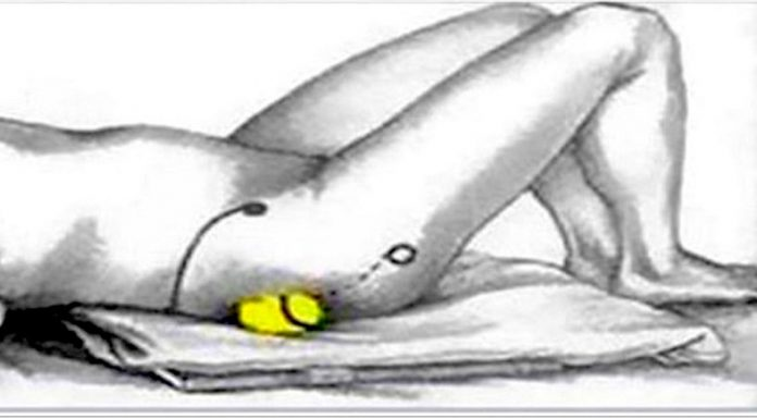 stop sciatic nerve pain and back pain tennis ball