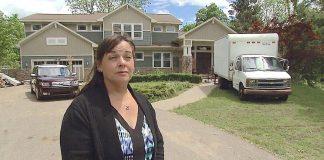 Arlene Nickless extreme makeover evicted