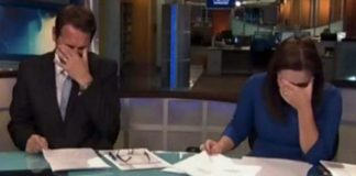 blooper anchors laughing