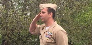 veteran Joshua Corney Honor Fallen Comrades